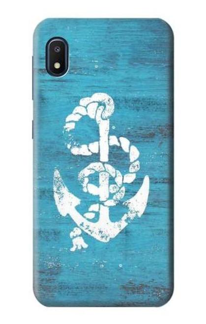 S3053 Marine Anchor Blue Case For Samsung Galaxy A10e