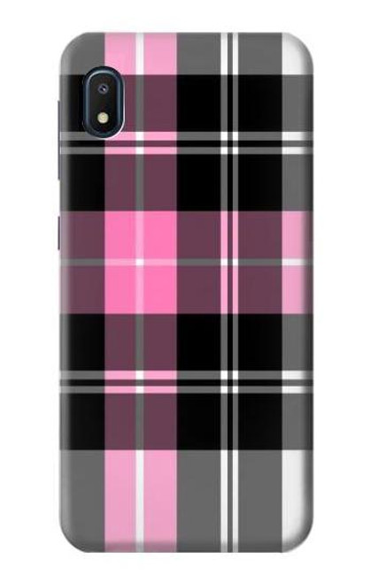 S3091 Pink Plaid Pattern Case For Samsung Galaxy A10e