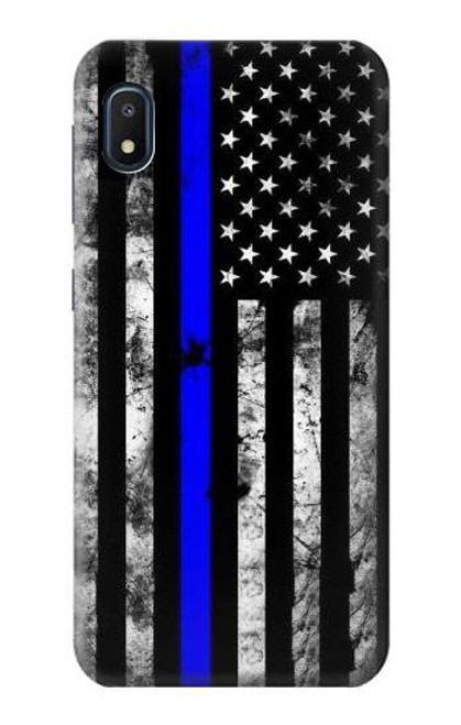 S3244 Thin Blue Line USA Case For Samsung Galaxy A10e
