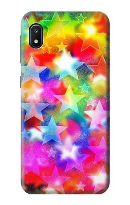 S3292 Colourful Disco Star Case For Samsung Galaxy A10e