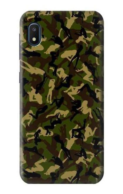 S3356 Sexy Girls Camo Camouflage Case For Samsung Galaxy A10e