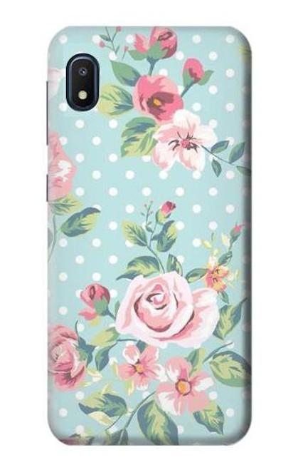 S3494 Vintage Rose Polka Dot Case For Samsung Galaxy A10e