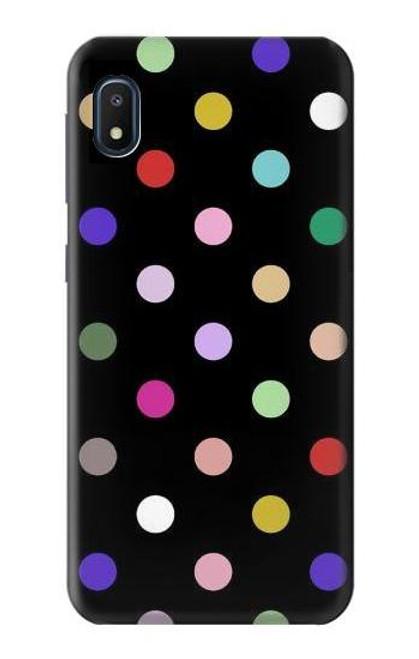 S3532 Colorful Polka Dot Case For Samsung Galaxy A10e