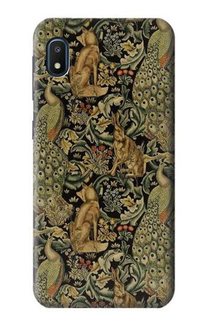 S3661 William Morris Forest Velvet Case For Samsung Galaxy A10e