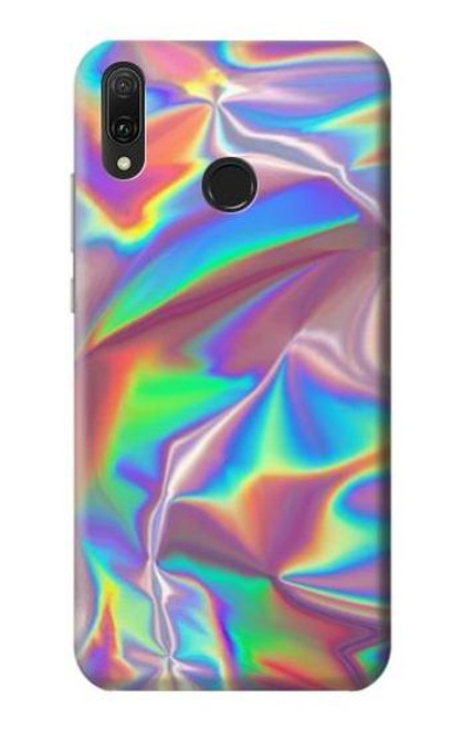 S3597 Holographic Photo Printed Case For Huawei Y9 (2019)