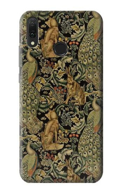 S3661 William Morris Forest Velvet Case For Huawei Y9 (2019)