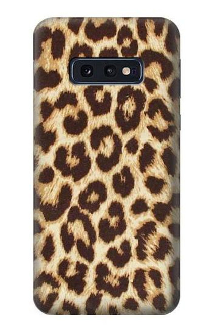 S2204 Leopard Pattern Graphic Printed Case For Samsung Galaxy S10e