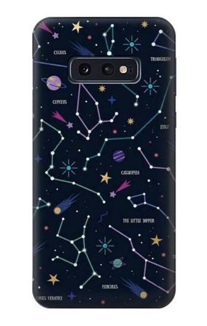 S3220 Star Map Zodiac Constellations Case For Samsung Galaxy S10e