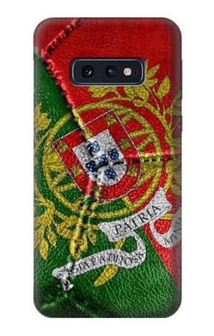 S3300 Portugal Flag Vintage Football Graphic Case For Samsung Galaxy S10e