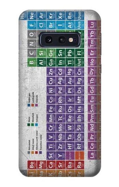 S3383 Periodic Table Case For Samsung Galaxy S10e