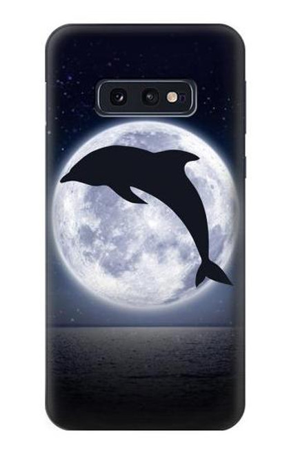 S3510 Dolphin Moon Night Case For Samsung Galaxy S10e