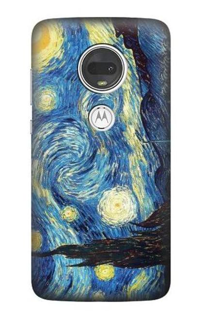 S0213 Van Gogh Starry Nights Case For Motorola Moto G7, Moto G7 Plus