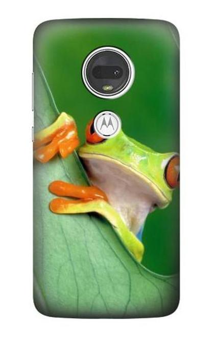 S1047 Little Frog Case For Motorola Moto G7, Moto G7 Plus