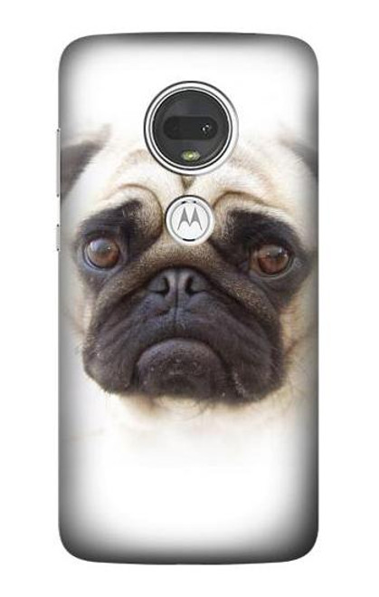 S1852 Pug Dog Case For Motorola Moto G7, Moto G7 Plus