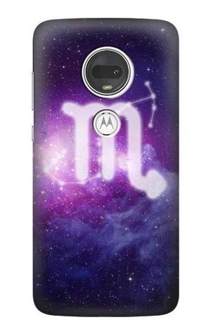 S3370 Zodiac Scorpio Case For Motorola Moto G7, Moto G7 Plus