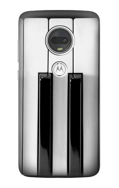 S3524 Piano Keyboard Case For Motorola Moto G7, Moto G7 Plus