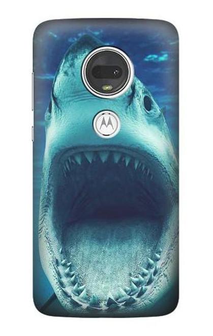 S3548 Tiger Shark Case For Motorola Moto G7, Moto G7 Plus