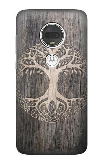 S3591 Viking Tree of Life Symbol Case For Motorola Moto G7, Moto G7 Plus