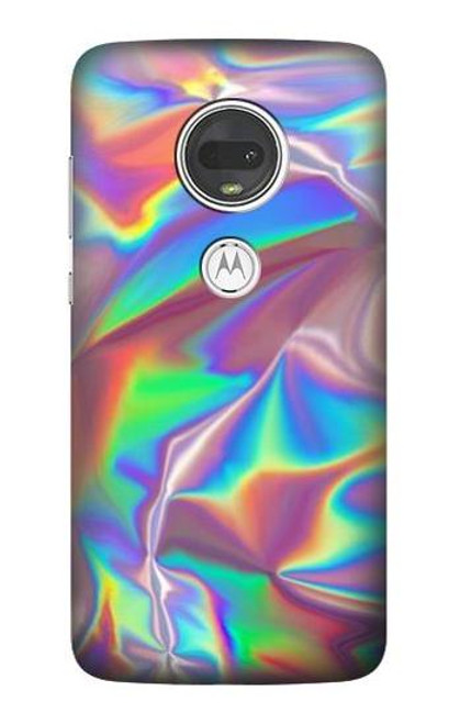 S3597 Holographic Photo Printed Case For Motorola Moto G7, Moto G7 Plus
