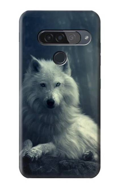 S1516 White Wolf Case For LG G8S ThinQ