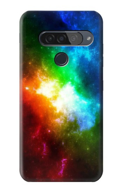 S2312 Colorful Rainbow Space Galaxy Case For LG G8S ThinQ