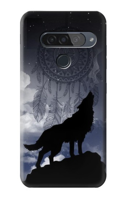 S3011 Dream Catcher Wolf Howling Case For LG G8S ThinQ