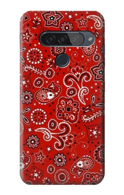 S3354 Red Classic Bandana Case For LG G8S ThinQ