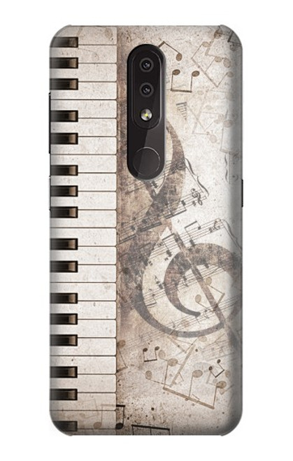 S3390 Music Note Case For Nokia 4.2