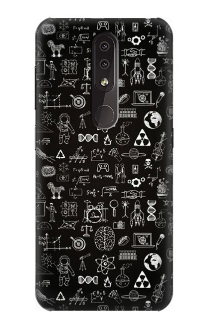 S3426 Blackboard Science Case For Nokia 4.2
