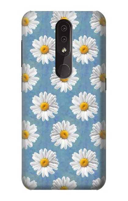 S3454 Floral Daisy Case For Nokia 4.2