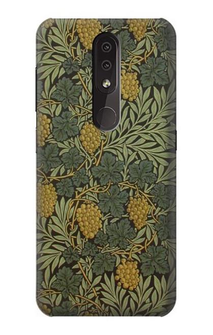 S3662 William Morris Vine Pattern Case For Nokia 4.2