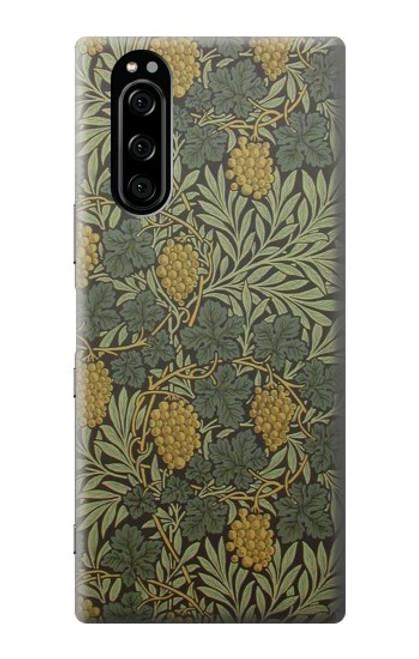 S3662 William Morris Vine Pattern Case For Sony Xperia 5