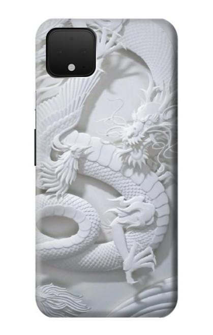 S0386 Dragon Carving Case For Google Pixel 4