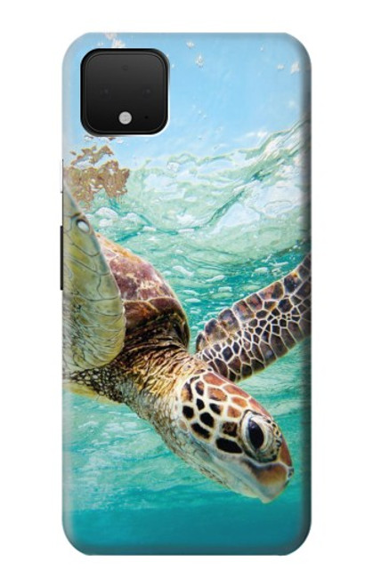 S1377 Ocean Sea Turtle Case For Google Pixel 4