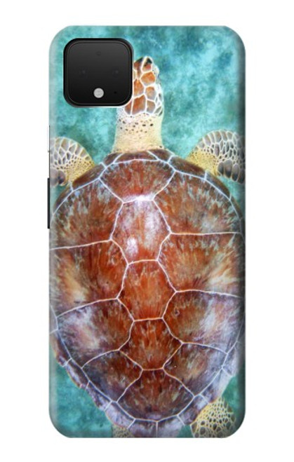 S1424 Sea Turtle Case For Google Pixel 4