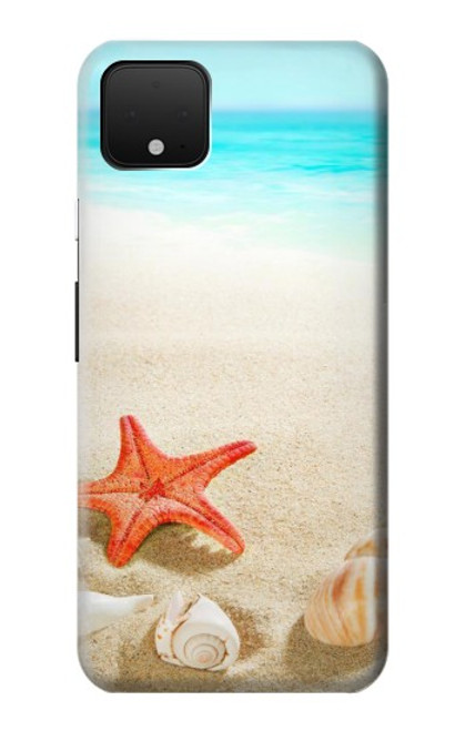 S3212 Sea Shells Starfish Beach Case For Google Pixel 4