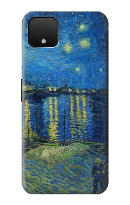 S3336 Van Gogh Starry Night Over the Rhone Case For Google Pixel 4