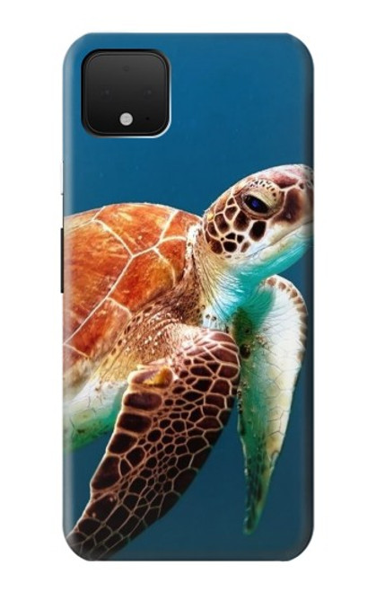 S3497 Green Sea Turtle Case For Google Pixel 4