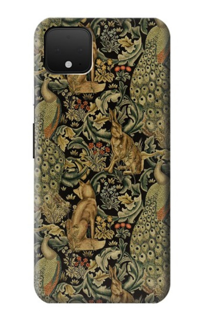 S3661 William Morris Forest Velvet Case For Google Pixel 4