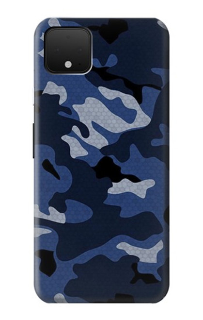 S2959 Navy Blue Camo Camouflage Case For Google Pixel 4 XL