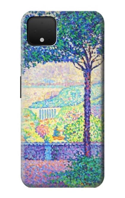 S3349 Paul Signac Terrace of Meudon Case For Google Pixel 4 XL