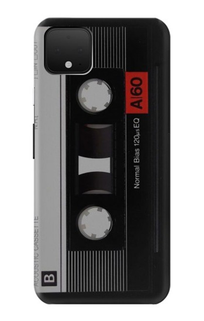 S3516 Vintage Cassette Tape Case For Google Pixel 4 XL