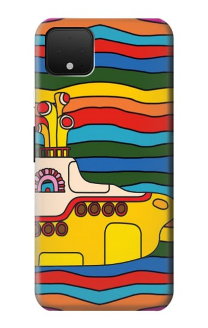 S3599 Hippie Yellow Submarine Case For Google Pixel 4 XL