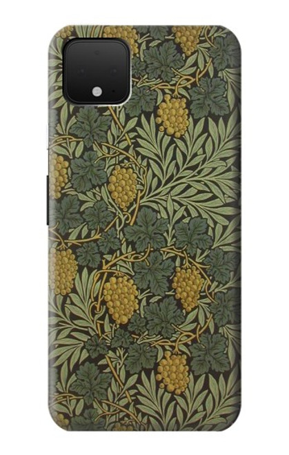 S3662 William Morris Vine Pattern Case For Google Pixel 4 XL