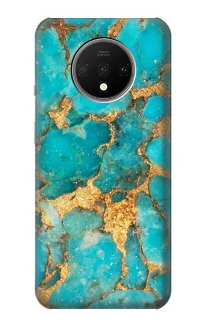 S2906 Aqua Turquoise Stone Case For OnePlus 7T
