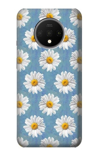S3454 Floral Daisy Case For OnePlus 7T