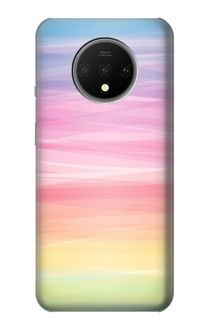 S3507 Colorful Rainbow Pastel Case For OnePlus 7T