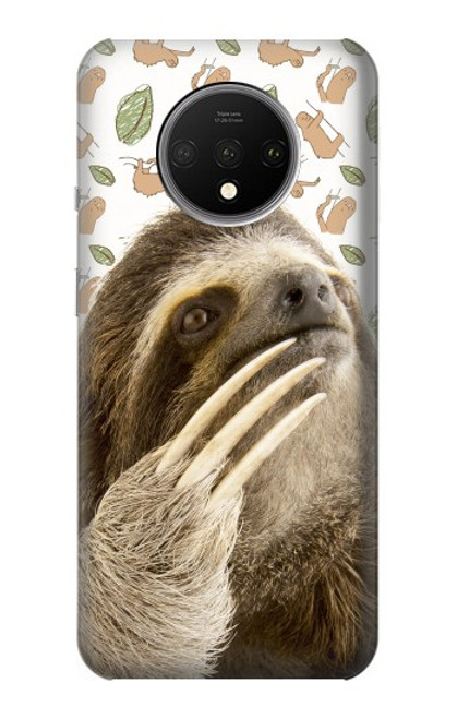 S3559 Sloth Pattern Case For OnePlus 7T