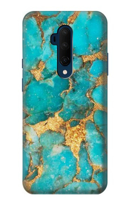 S2906 Aqua Turquoise Stone Case For OnePlus 7T Pro