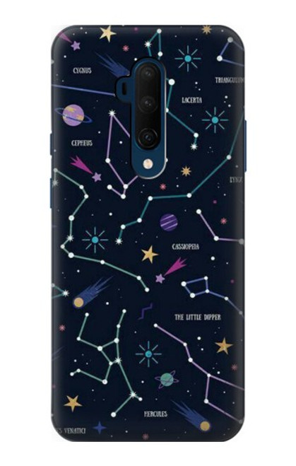 S3220 Star Map Zodiac Constellations Case For OnePlus 7T Pro